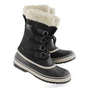 SOREL Carnival Winter Snow Boots Black 7